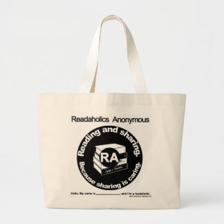 Tote enorme anónimo de Readaholics Bolsa Tela Grande