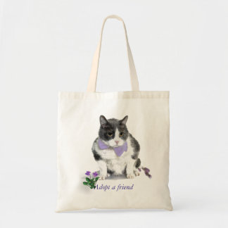Tote:  Felix, the kitty, in the month of May Tote Bag