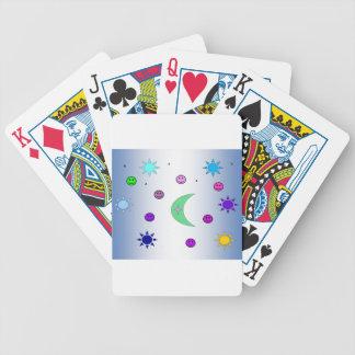 Tote feliz baraja cartas de poker