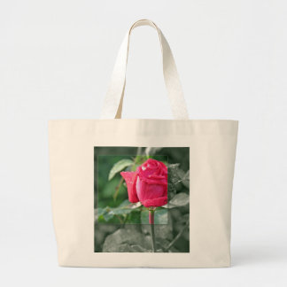 TOTE Flowers by the Lake - Red Rose Bud