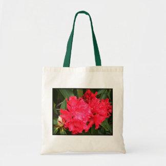~Tote gigante rojo Bag~ del rododendro Bolsa Tela Barata