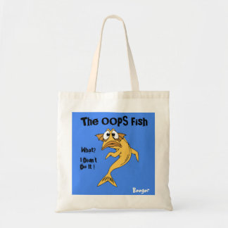 Tote (handbag) - The OOPS Fish (animated fish)