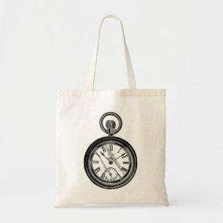 Tote II del reloj de bolsillo Bolsa Tela Barata