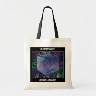 "Tote Indie Support ""Outside The Box"" Canvas Bag"