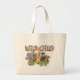 Tote/la bolsa de pañales salvajes de la selva del