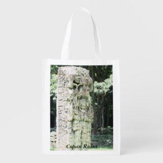 Tote maya de Copan Honduras de las ruinas de la Bolsa Para La Compra