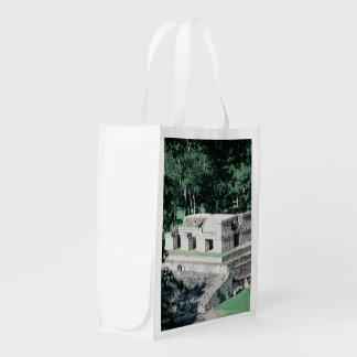 Tote maya de Copan Honduras de las ruinas del Bolsas Reutilizables