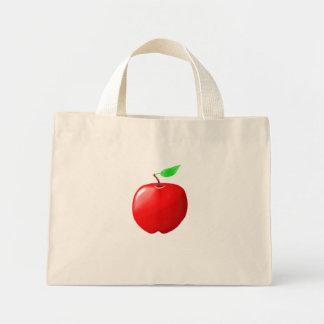 Tote minúsculo de Apple Bolsa Tela Pequeña