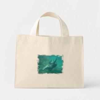 Tote minúsculo de los leones marinos bolsas