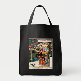 Tote:  Month of  September - Septembre Tote Bag