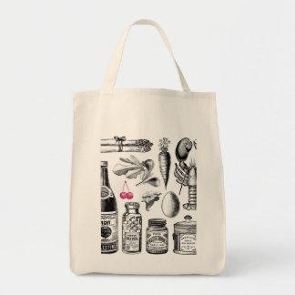 Tote orgánico del bolso de ultramarinos de la bolsa tela para la compra