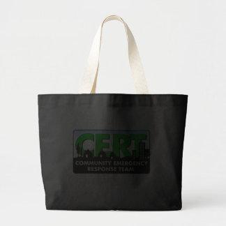 Tote-Oscuro-personalizar del CERT Bolsa De Mano