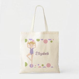 Tote personalizado bailarina dulce bolsa