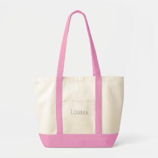 Tote personalizado bolsa lienzo