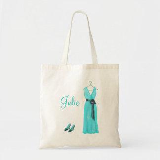 Tote personalizado de la dama de honor del trullo bolsa de mano