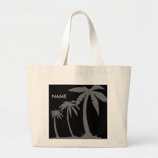 Tote personalizado tropical bolsa de mano