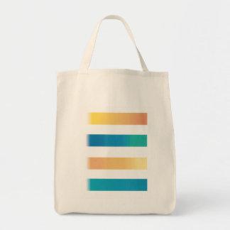 """Tote """"que viene y que va"""" bolsa tela para la compra"""