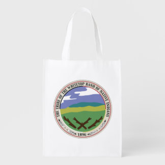 Tote reutilizable de la tribu de Whitetop Bolsa Reutilizable