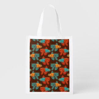 Tote reutilizable del Goldfish colorido Bolsa De La Compra