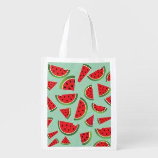 Tote reutilizable del mercado de la fruta de la bolsas para la compra