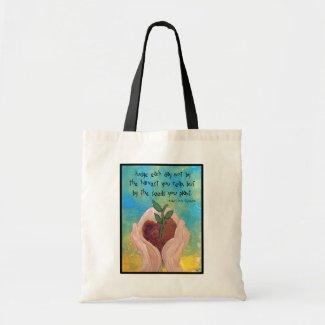 Tote: Robert Louis Stevenson Quote Art Budget Tote Bag