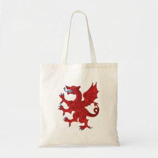 Tote (rojo) desenfrenado del dragón