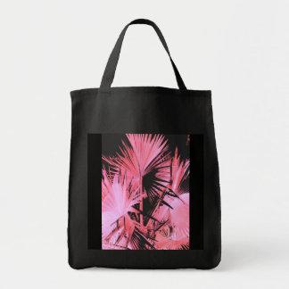Tote (rosado) de las compras de la palma del Bisma Bolsas