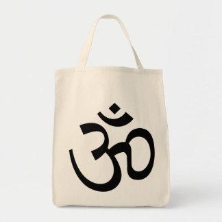tote santo del ultramarinos del símbolo del aum de bolsa tela para la compra