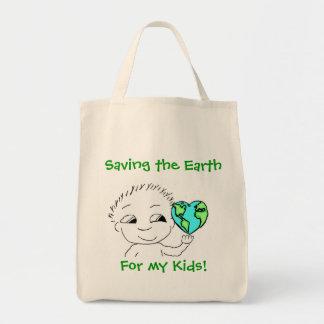 Tote - Saving The Earth 2 Tote Bags