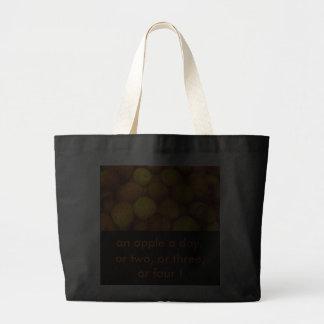 Tote una manzana al día, o dos, o tres,   … bolsas