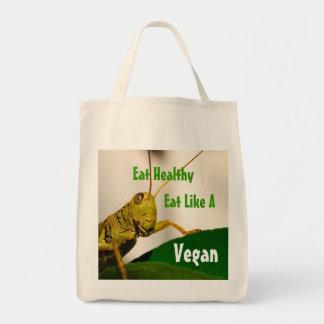 Tote Vegetariano-Orgánico del ultramarinos