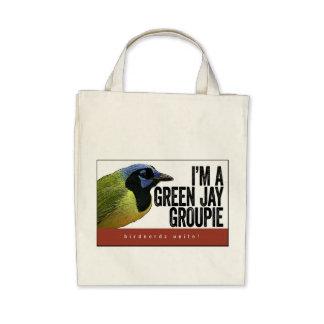 Tote verde del groupie de Jay Bolsas