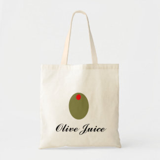 Tote verde oliva   del jugo bolsa tela barata