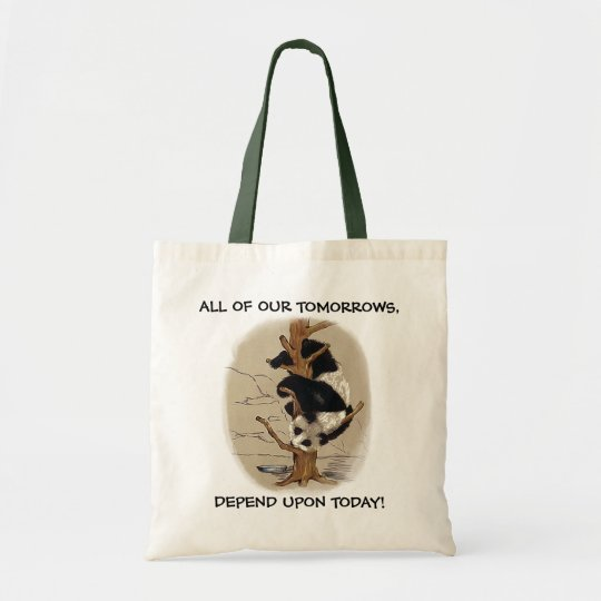 TOTE w/ SWEET GIANT PANDA ~ ALL OF OUR TOMORROWS,