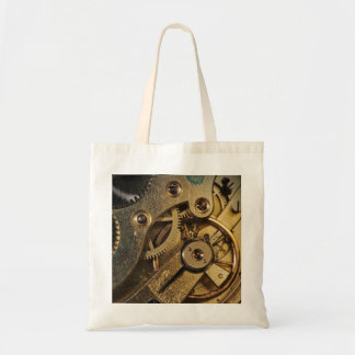ToteBag: Brass Hearted. Watch Mechanism Tote Bag