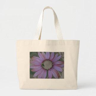 Totebag, coneflower design large tote bag