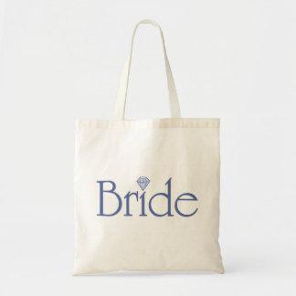 Totebag de la novia bolsa tela barata