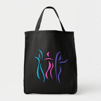 Totebag del baile bolsa tela para la compra