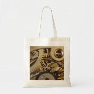 ToteBag: Tic Tac Wheels. Watch Mechanism Tote Bag