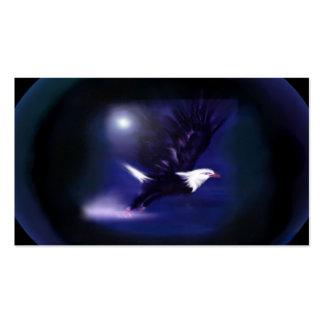 tótem - águila tarjetas de visita