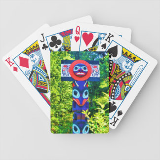 totem bicycle playing cards