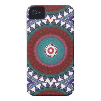 Totem colour pattern iPhone 4 protectores