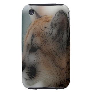 'Totem Cougar Cub' Tough iPhone 3 Case