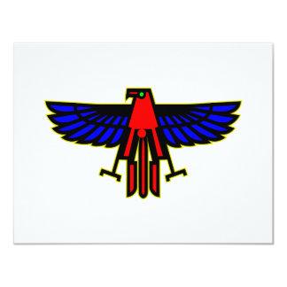 Tótem de Thunderbird del indio Invitación 10,8 X 13,9 Cm