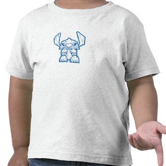Tótem de Tiki de Lilo y de la puntada Camisetas