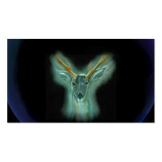 totem - deer Double-Sided standard business cards (Pack of 100)