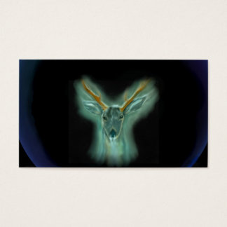 totem - deer business card