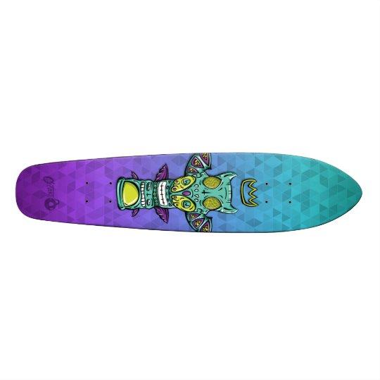 Totem King Turquoise/Purple Skate Deck! Skateboard Deck