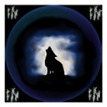 tótem - lobo poster