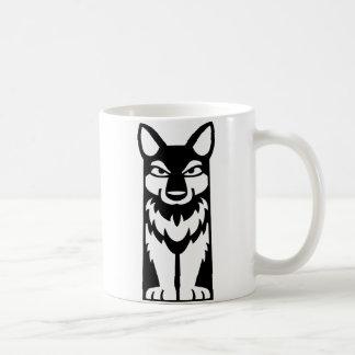 Tótem minúsculo - lobo - taza